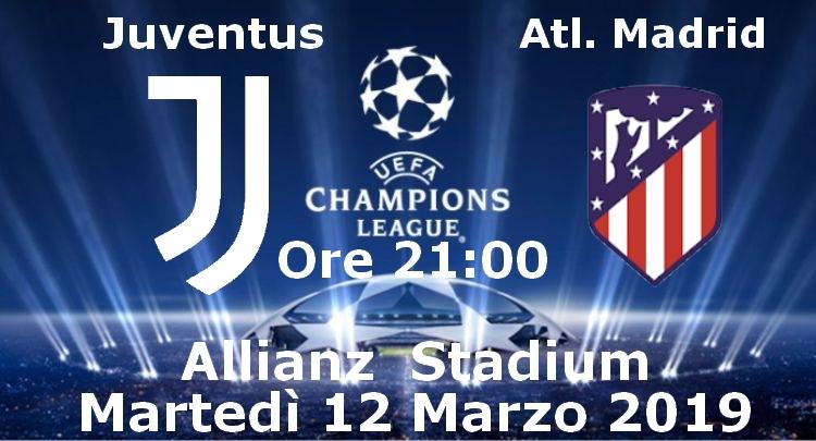 741ca8b122 Richiesta Biglietti per Juventus-Atletico Madrid di Martedì 12 Marzo 2019